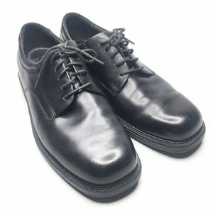 Rockport Black Mens Classic Oxford Dress Shoes
